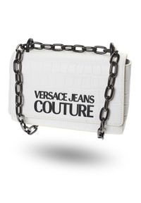 Torebka Versace Jeans Couture elegancka, z nadrukiem