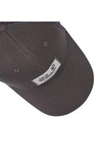 Szara czapka z daszkiem Jack Wolfskin