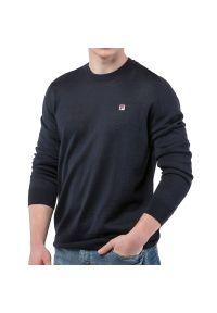 Fila Crew Knit > 682383-170. Materiał: wełna, akryl, materiał