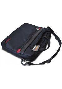 Czarna torba na laptopa HIRO