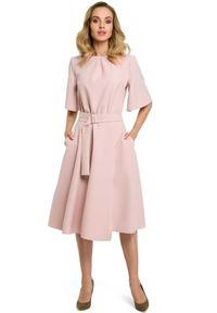 Sukienka MOE elegancka, rozkloszowana