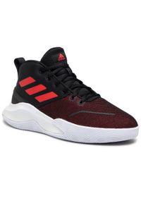 Czarne buty do koszykówki Adidas