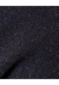 PESERICO - Szary golf z wełną i kaszmirem. Typ kołnierza: golf. Kolor: szary. Materiał: kaszmir, wełna. Długość rękawa: długi rękaw. Długość: długie. Wzór: aplikacja