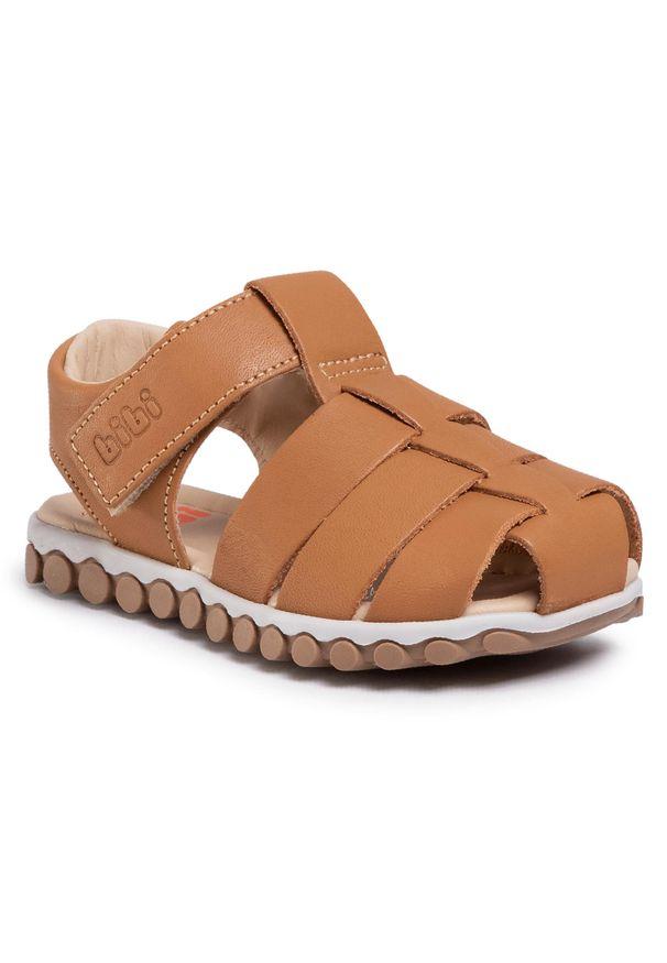 Brązowe sandały Bibi