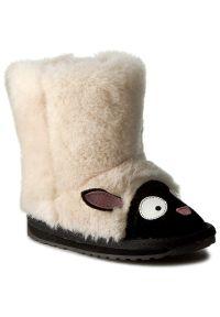 Beżowe buty zimowe EMU Australia z cholewką