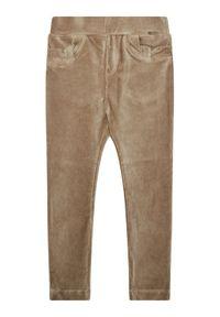 Mayoral Spodnie materiałowe 714 Brązowy Regular Fit. Kolor: brązowy. Materiał: materiał #3
