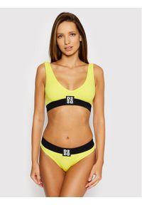 Żółty top Dsquared2 Underwear
