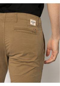 Brązowe spodnie Napapijri