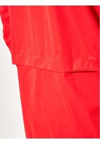 Czerwona kurtka do biegania Asics