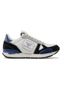 Emporio Armani Sneakersy X4X542 XM707 Q037 Biały. Kolor: biały