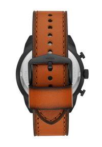 Fossil - Zegarek FS5714. Kolor: brązowy. Materiał: materiał