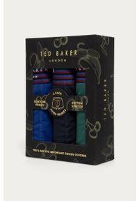 Niebieskie majtki Ted Baker gładkie
