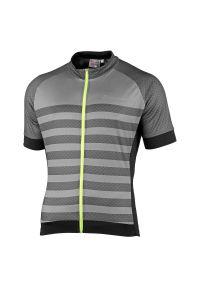 Koszulka rowerowa męska Nakamura Maglia Armor 43202001. Materiał: dzianina, mesh, włókno, skóra, materiał, poliester, tkanina, syntetyk. Wzór: gładki. Sport: kolarstwo