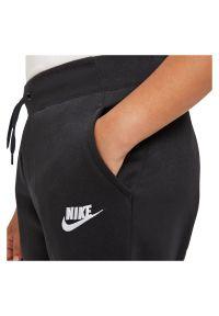 Spodnie sportowe dla dziewcząt Nike Sportswear BV2720. Materiał: bawełna, dzianina, materiał, poliester