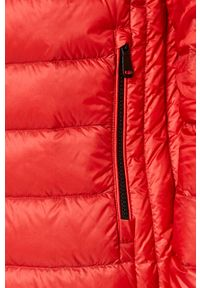 Czerwona kurtka Geox casualowa, bez kaptura, na co dzień