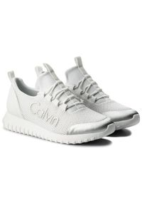 Białe sneakersy Calvin Klein Jeans