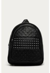 Czarny plecak Answear Lab wakacyjny, z aplikacjami