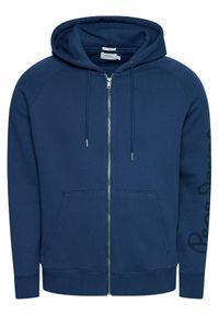 Pepe Jeans Bluza Julian PM582032 Granatowy Slim Fit. Kolor: niebieski