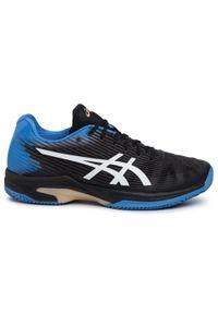 Czarne buty do tenisa Asics
