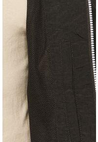 Czarna kurtka Calvin Klein Jeans z kapturem, casualowa