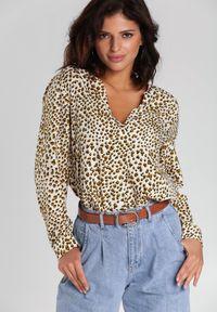 Beżowa koszula Renee