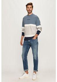 Szara bluza nierozpinana Tommy Jeans bez kaptura