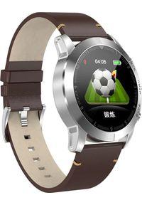 Brązowy zegarek Roneberg smartwatch