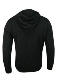 Szary sweter Brave Soul sportowy, z kapturem