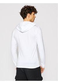 Alpha Industries Bluza Basic Hooded Heavy Ls 116572 Biały Slim Fit. Kolor: biały