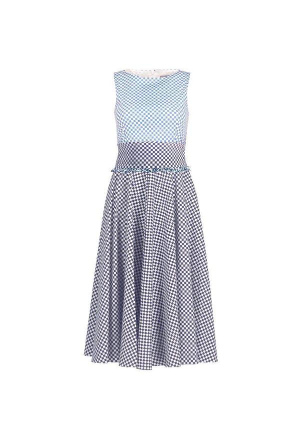 Niebieska sukienka Marella na co dzień, prosta
