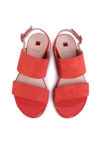 Pomarańczowe sandały HÖGL