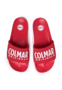 Czerwone klapki Colmar casualowe, na co dzień