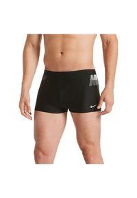 Kąpielówki męskie do pływania Nike Rift Boxer NESS9495. Materiał: materiał, nylon. Długość: długie