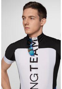 Koszulka rowerowa 4f rowerowa, długa, ze stójką