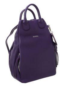 Plecak damski Badura T_D116FI_CD fioletowy. Kolor: fioletowy. Materiał: skóra