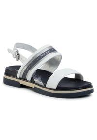 Białe sandały Wrangler casualowe, na co dzień