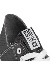 Czarne trampki Big-Star z cholewką, na co dzień, casualowe