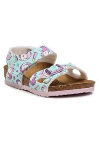 Niebieskie sandały Birkenstock