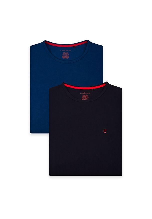 T-shirt Lancerto z klasycznym kołnierzykiem, klasyczny