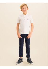 Biały t-shirt polo Timberland polo