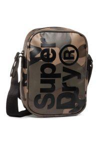 Superdry Saszetka Side Bag M9100022A Zielony. Kolor: zielony