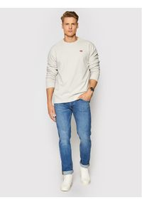Levi's® Bluza New Original 35909-0013 Szary Standard Fit. Kolor: szary