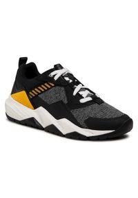 CATerpillar - Sneakersy CATERPILLAR - Groundwork Mesh P110396 Black. Okazja: na co dzień. Kolor: czarny. Materiał: materiał. Szerokość cholewki: normalna. Styl: klasyczny, sportowy, casual