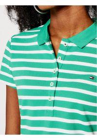 Zielona koszulka polo TOMMY HILFIGER polo