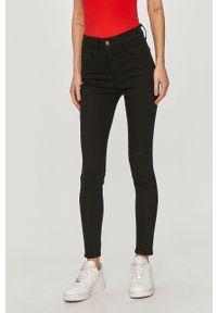 Czarne jeansy GAP z podwyższonym stanem