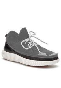 Białe sneakersy ACBC z cholewką, do biegania