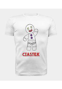 MegaKoszulki - Koszulka męska premium Ciastek. Materiał: bawełna. Wzór: nadruk