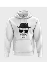 MegaKoszulki - Bluza z kapturem Black Men. Typ kołnierza: kaptur