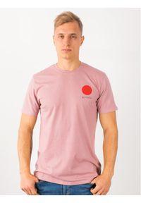 Różowy t-shirt Edwin