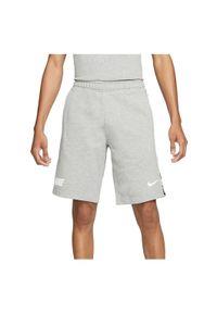 Spodenki męskie Nike NSW Repeat Short DD4496. Materiał: włókno, dresówka, poliester, dzianina, bawełna. Długość: krótkie